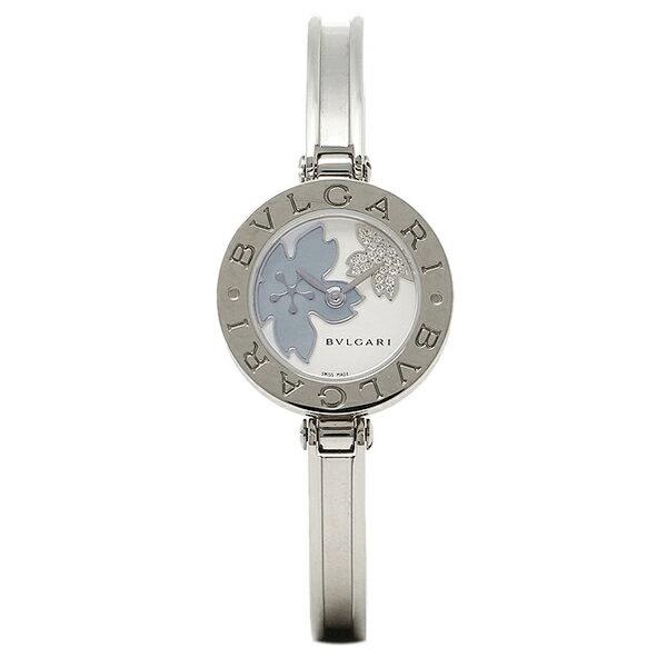 ブルガリ BVLGARI 時計 レディース 腕時計 BVLGARI ブルガリ BZ22FDSS.S B-ZERO1 ビーゼロワン バングル ダイヤモンドフラワー ホワイト/ブルーシェル ウォッチ/腕時計 シリアル有