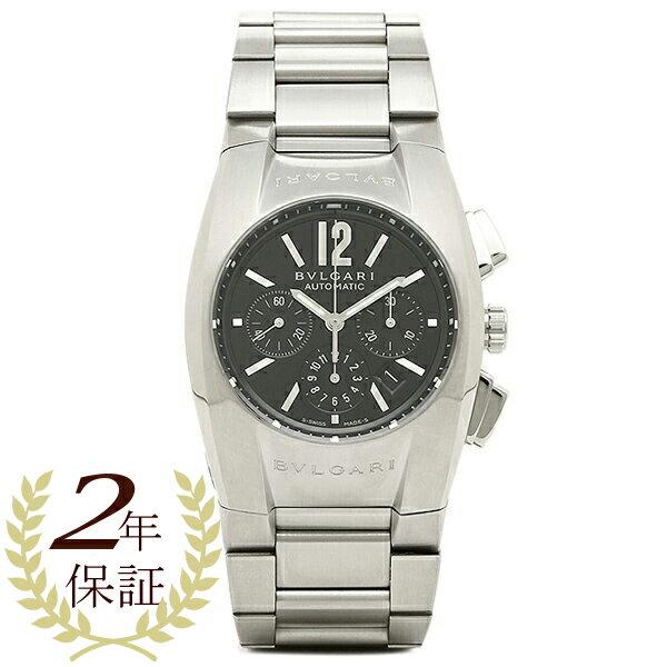 【4時間限定ポイント10倍】 ブルガリ BVLGARI 時計 レディース 腕時計 BVLGARI ブルガリ エルゴン オートマチック クロノグラフ ブラック ボーイズ EG35BSSDCH ウォッチ 腕時計 シリアル有