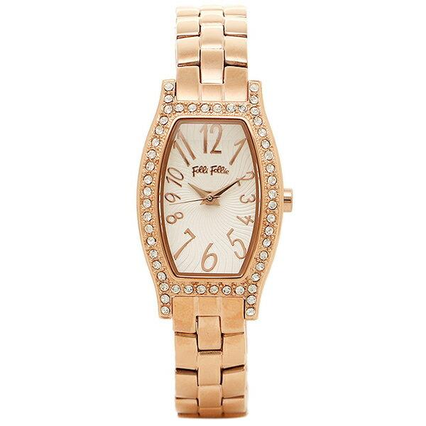 フォリフォリ FOLLI FOLLIE 時計 腕時計 フォリフォリ 時計 FOLLI FOLLIE 腕時計 レディース WF8B026BPS ホワイト/ピンクゴールド ウォッチ