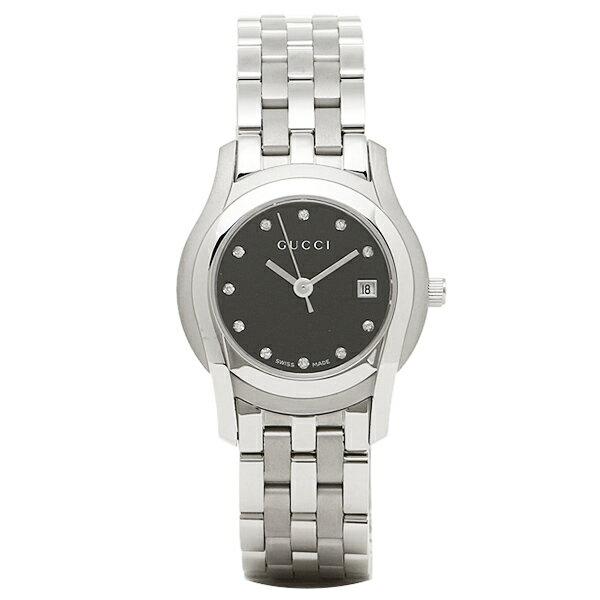 【エントリーでポイント最大19倍】グッチ GUCCI 時計 レディース 腕時計 YA055534 Gクラス ウォッチ ブラック/シルバー クリスマスセール