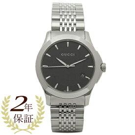 06cae971d4ba 【4時間限定ポイント10倍】グッチ GUCCI 時計 腕時計 メンズ YA126402 ミディアム バージョン