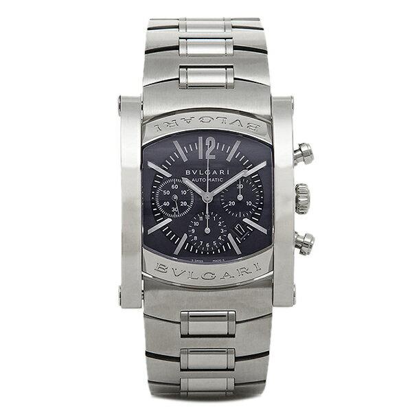 【4時間限定ポイント10倍】 ブルガリ BVLGARI 時計 腕時計 メンズ BVLGARI ブルガリ アショーマ AA44C14SSDCH メンズウォッチ 腕時計 シリアル有