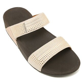 핏트후롭산달 fitflop 419 323 AZTEC CHADA SLIDE ROSE GOLD