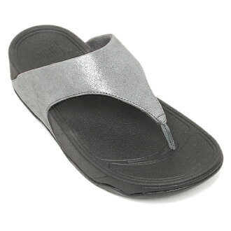 合身FLOP凉鞋fitflop 505 054 LULU SHIMMERSUED PEWTER
