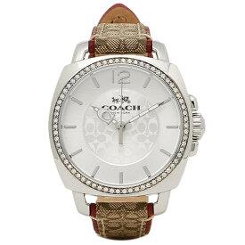 【4時間限定ポイント10倍】【返品OK】コーチ 腕時計 レディース COACH 14502415 シルバー ブラウン