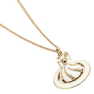 Vivien waist Wood necklace VIVIENNE WESTWOOD 752031B/3 yellow gold white