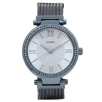 게스 시계 레이디스 GUESS W0638L3 SOHO 레이디스 손목시계 워치 블루/실버