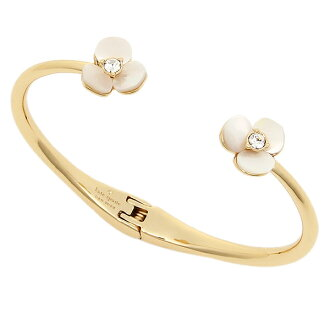 f054ed126acd7 Brand Shop AXES  Kate spade bracelet accessories Lady s DISCO PANSY THIN  CUFF bangle gold WBRUB663 110