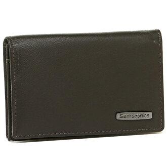 샘소나이트 카드상자 SAMSONITE 55 B 862 BUSINESS CARD HOLDER 명함 보관함 DARK BROWN