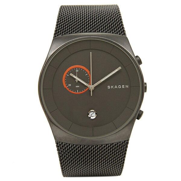 スカーゲン 時計 SKAGEN SKW6186 HAVENE ヘブン クロノグラフ メンズ腕時計 ウォッチ ブラック クリスマスセール