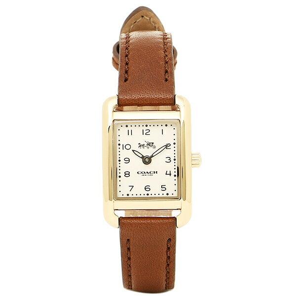 コーチ 腕時計 レディース COACH 14502297 ブラウン ゴールド ホワイト