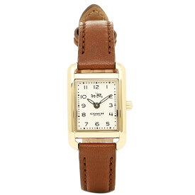【4時間限定ポイント20倍】コーチ 腕時計 レディース COACH 14502297 ブラウン ゴールド ホワイト