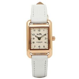 【4時間限定ポイント20倍】コーチ 腕時計 レディース COACH 14502298 ゴールド ホワイト