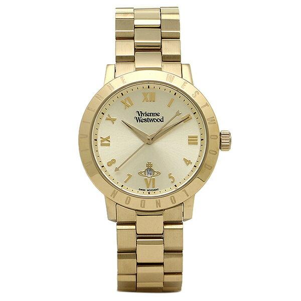 ヴィヴィアンウエストウッド 時計 VIVIENNE WESTWOOD VV152GDGD BLOOMSBURY ブルームズベリー レディース腕時計 イエローゴールド