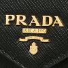 프라다 지갑 PRADA 1 MF175 UZF F0002 SAFFIANO METAL장 지갑 NERO