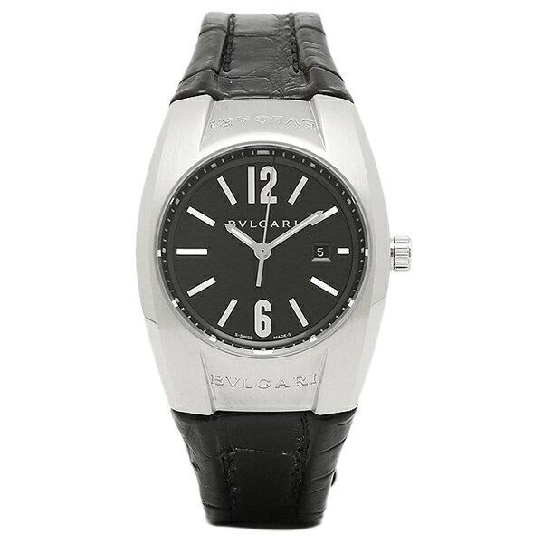 【4時間限定ポイント10倍】 ブルガリ 時計 レディース BVLGARI EG30BSLD エルゴン クォーツ腕時計ウォッチ ブラック/シルバー