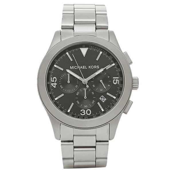 マイケルコース 腕時計 レディース MICHAEL KORS MK8469 ブラック シルバー