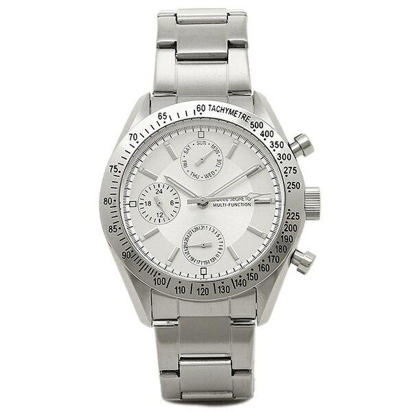 【6時間限定ポイント10倍】ドルチェセグレート 時計 DOLCE SEGRETO MSM101SV グランドクロノ メンズ腕時計 ウォッチ シルバー