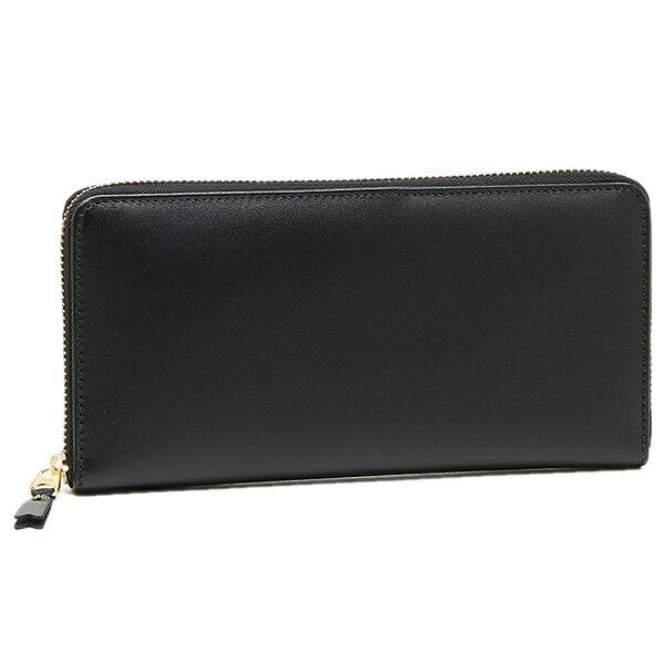 コムデギャルソン 財布 レディース/メンズ COMME des GARCONS SA0110 CLASSIC LEATHER LINE ZIP AROUND LONG WALLET 長財布 BLACK