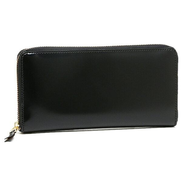 コムデギャルソン 財布 レディース/メンズ COMME des GARCONS SA0110MI MIRROR INSIDE ZIP AROUND LONG WALLET 長財布 BLACK/GOLD