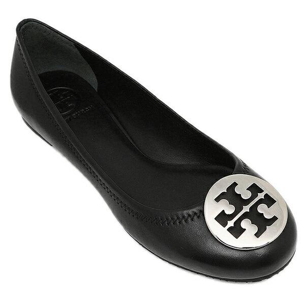 トリーバーチ シューズ TORY BURCH 50008690 002 REVA シューズ・靴 レディース BLACK/SILVER クリスマスセール