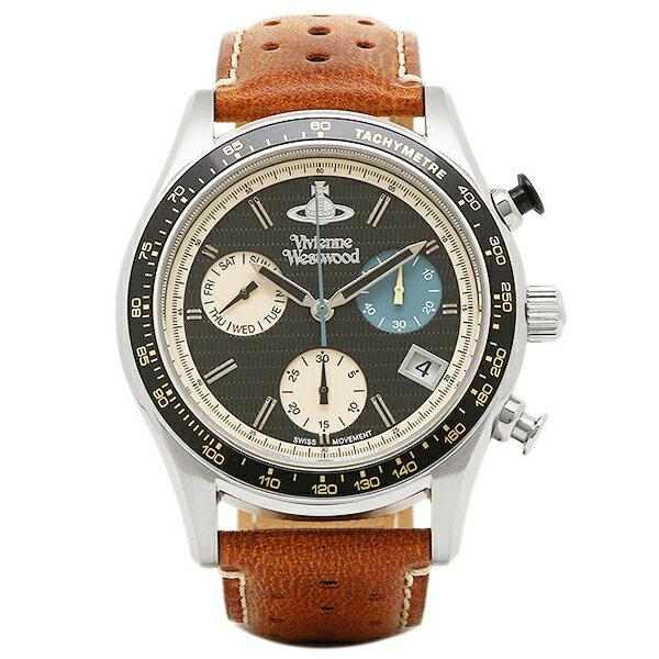 ヴィヴィアンウエストウッド 時計 VIVIENNE WESTWOOD VV142BKTN SOTHEBY メンズ腕時計 ウォッチ ブラウン/ブラック
