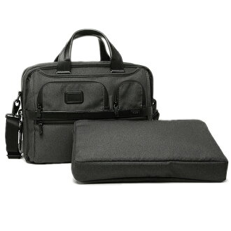 tumibaggu TUMI 26141 AT2阿尔法ALPHA2 EXPANDABLE ORGANIZER COMPUTER BRIEF人商务包公文包ANTHRACITE