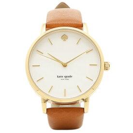 【返品OK】ケイトスペード 時計 KATE SPADE KSW1142 METRO メトロ レディース腕時計ウォッチ ホワイト/ゴールド/ブラウン