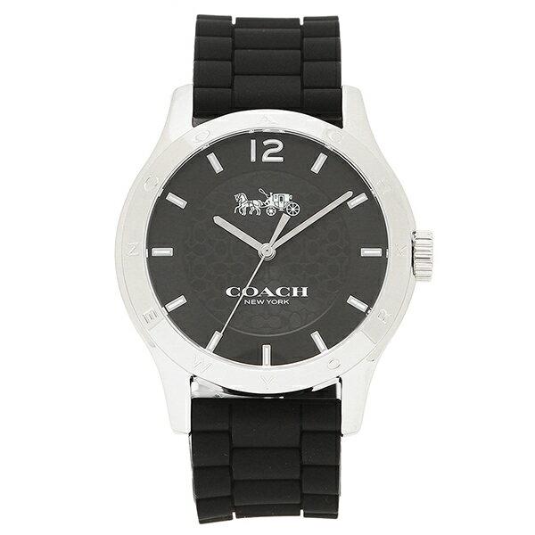 コーチ 腕時計 レディース アウトレット COACH W6033 BLK 14502217 ブラック シルバー