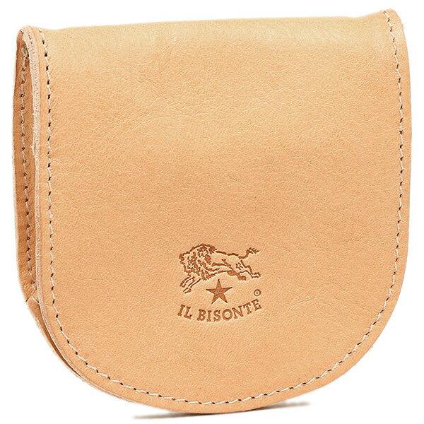 イルビゾンテ 財布 レディース IL BISONTE C0934 P 120 小銭入れ・コインケース NATURAL