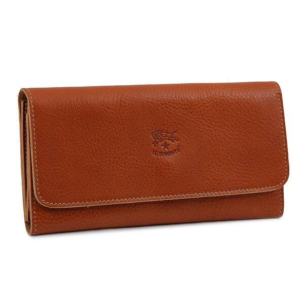 イルビゾンテ IL BISONTE 財布 レディース/メンズ C0775-P 145 長財布 CARAMEL