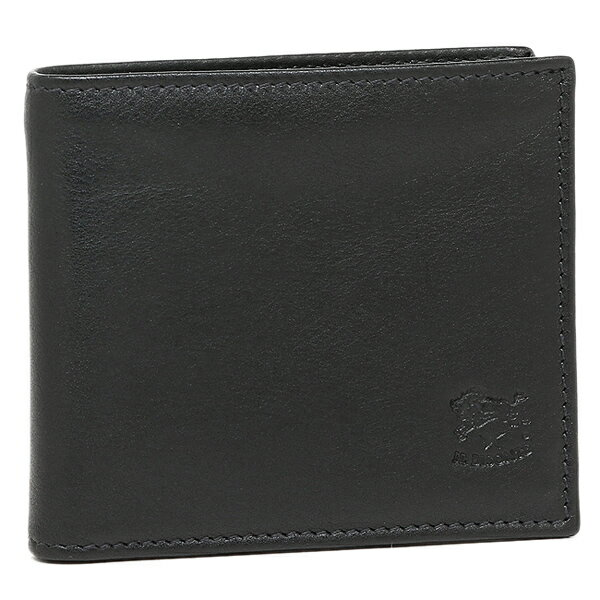イルビゾンテ 財布 IL BISONTE C0817 P 153 メンズ 二つ折り財布 BLACK