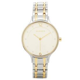 スカーゲン 腕時計 SKAGEN SKW2321 ANITA アニタ レディース腕時計ウォッチ シルバ−/ホワイト/ゴ−ルド