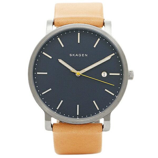 スカーゲン 時計 SKAGEN SKW6279 HAGEN ハーゲン メンズ腕時計 ウォッチ ブルー/ブラウン クリスマスセール