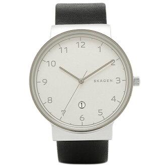 스카겐 시계 SKAGEN SKW6291 ANCHER 엥커 맨즈 손목시계 워치 실버/블랙
