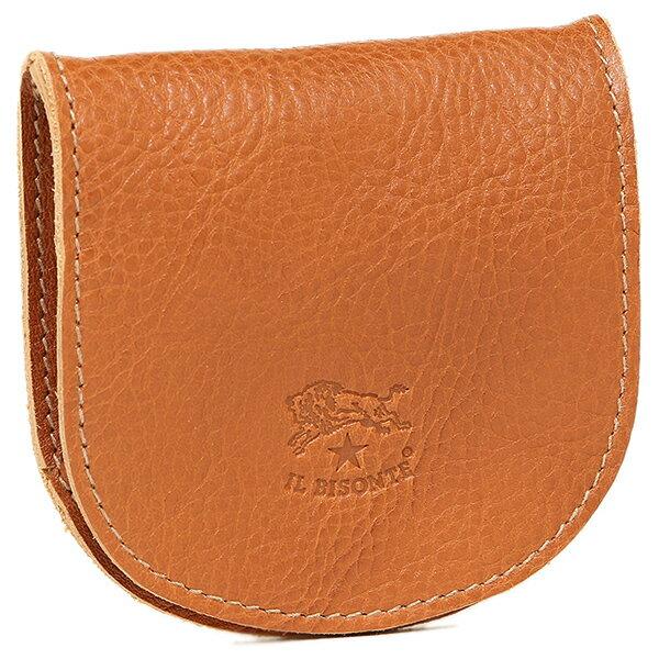 イルビゾンテ 財布 レディース IL BISONTE C0934 P 145 小銭入れ/コインケース CARAMEL