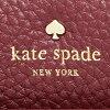 凯特黑桃长钱包KATE SPADE PWRU4854 649女子的梅尔低羊羔葡萄干