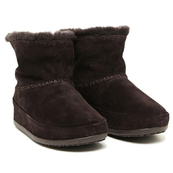 フィットフロップ ブーツ fitflop 630 092 MUKLUK SHORTY ブーツ DARKBROWN クリスマスセール
