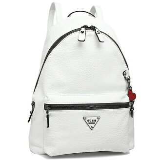 gesubaggu GUESS PM663332 COOL SCHOOL LEEZA BACKPACK帆布背包·背包WHITE