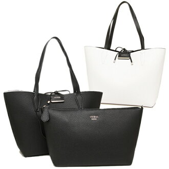 게스밧그 GUESS VG642236 BOBBI INSIDE OUT TOTE 토트 백 BLACK W/WHITE