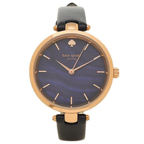 【エントリーでポイント最大19倍】ケイトスペード 時計 HOLLAND ホランド レディース腕時計ウォッチ ネイビー/ローズゴールド KSW1157 クリスマスセール