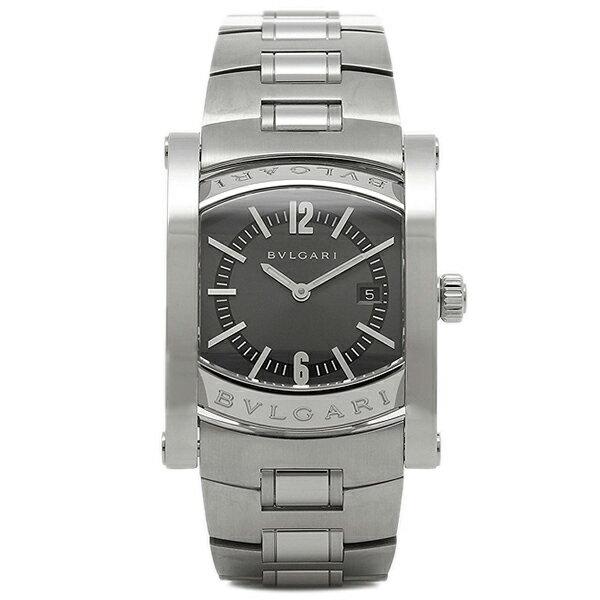 【6時間限定ポイント5倍】ブルガリ BVLGARI 時計 レディース 腕時計 ブルガリ 時計 BVLGARI AA39C14SSD アショーマ 腕時計 ウォッチ シルバー/ブラック