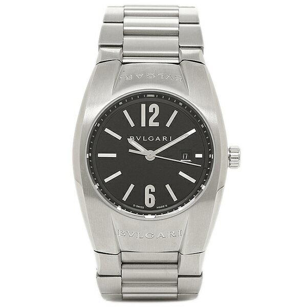 【4時間限定ポイント10倍】 ブルガリ BVLGARI 時計 レディース 腕時計 ブルガリ 時計 BVLGARI EG30BSSD エルゴン 腕時計 ウォッチ シルバー/ブラック