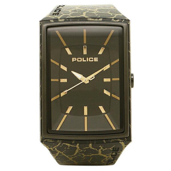 ポリス 時計 メンズ POLICE PL13077 MPB/02B VANTAGE X 3気圧防水 腕時計 ウォッチ BLACK/YELLOW