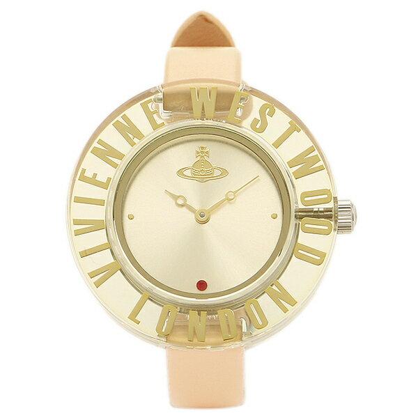 ヴィヴィアンウエストウッド 時計 VIVIENNE WESTWOOD VV032BG CLARITY クラリティー レディース腕時計ウォッチ シルバー/ベージュ