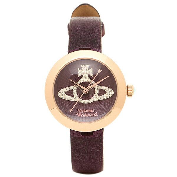 ヴィヴィアンウエストウッド 時計 VIVIENNE WESTWOOD VV150RSPP クイーンズゲート 腕時計ウォッチ パープル/ピンクゴールド/パープル