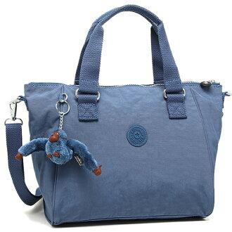 Kipling 가방 KIPLING K15371 33 V AMIEL 2 WAY 밧그레디스 JAZZY BLUE