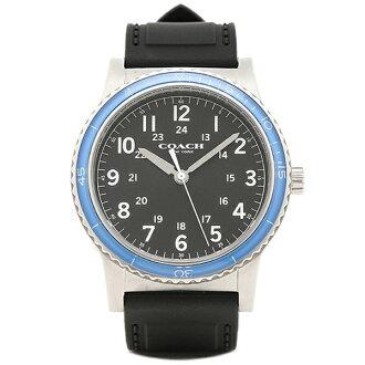 코치 손목시계 아울렛 COACH W5015 F3A 블랙 실버 블루