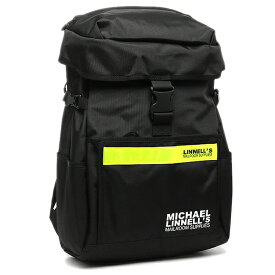 【返品保証】マイケルリンネル リュック MICHAEL LINNELL ML-016 約27L イエロー