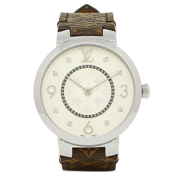 【エントリーでポイント最大19倍】ルイヴィトン 腕時計 LOUIS VUITTON Q13MJB モノグラム シルバー クリスマスセール
